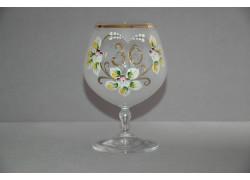 Jubilee Glass Carmen 30 years white www.sklenenevyrobky.cz
