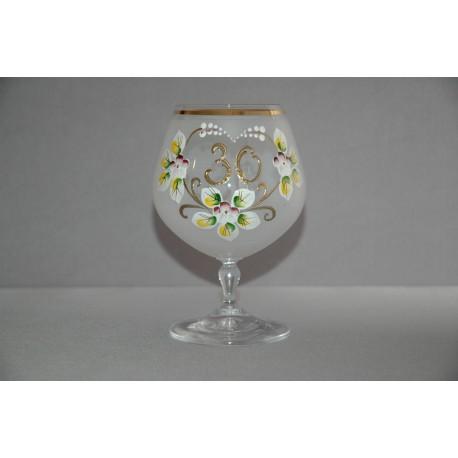Výroční sklenička Carmen 30 (400ml bílá)