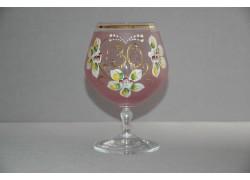 Jubilee Glass Carmen 30 years pink www.sklenenevyrobky.cz