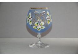 Jubilee Glass Carmen 30 years blue www.sklenenevyrobky.cz