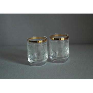 Pohárek 30ml listr duo crystal