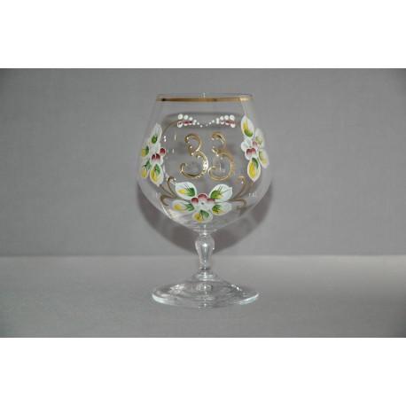 Výroční sklenička Carmen 33 (400ml crystal)