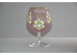 Jubilee Glass Carmen 33 years pink www.sklenenevyrobky.cz