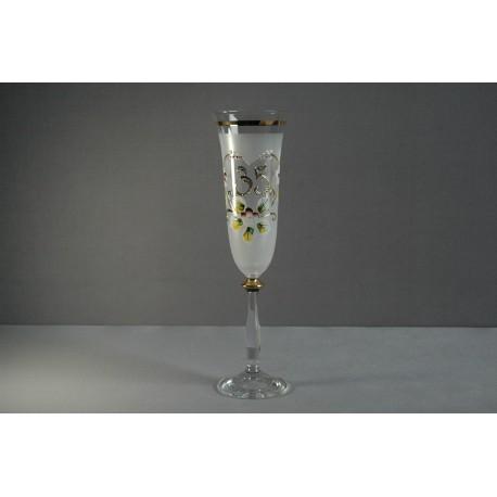 Výroční sklenička Angela - flétna 35 (190ml bílá)