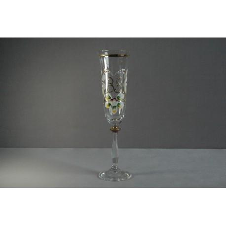 Výroční sklenička Angela - flétna 35 (190ml crystal)