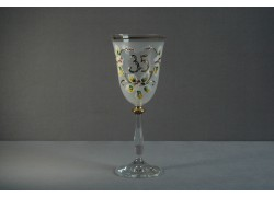 Výroční sklenička Angela 35 (250ml bílá)