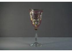 Výroční sklenička Angela 35 (250ml růžová)