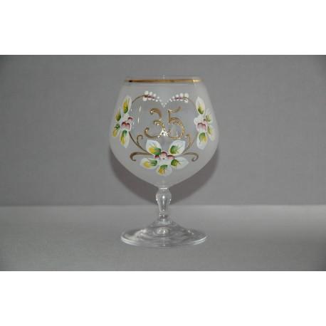 Výroční sklenička Carmen 35 (400ml bílá)