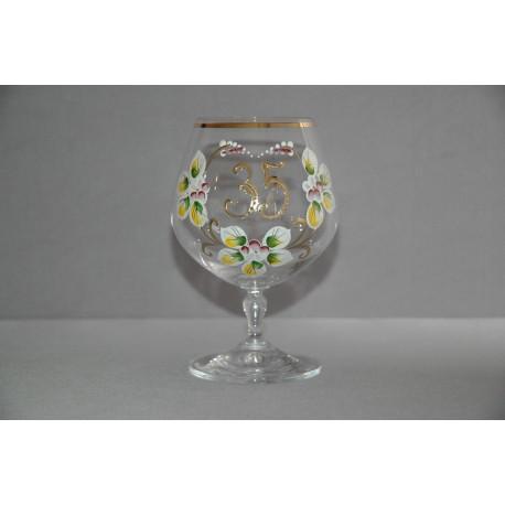 Výroční sklenička Carmen 35 (400ml crystal)