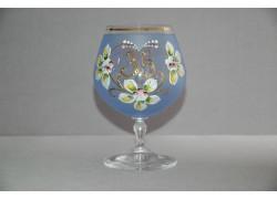 Jubilee Glass Carmen 35 years blue www.sklenenevyrobky.cz