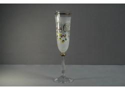 Jubilee glas Angela - flute 40 years white