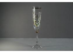 Jubilee glas Angela - flute 40 years clear