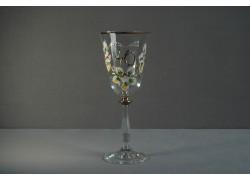 Jubilee wine glass Angela 40 years clear
