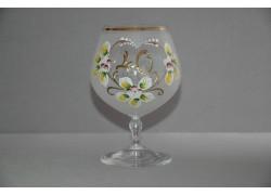 Výroční sklenička Carmen 40 let bílá