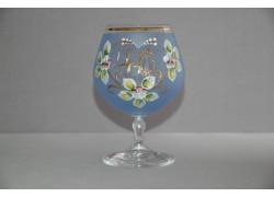 Výroční sklenička Carmen 40 let modrá