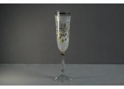 Výročný pohár Angela - flauta 45 rokov biela