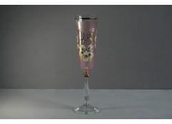Jubilee glas Angela - flute 45 years pink