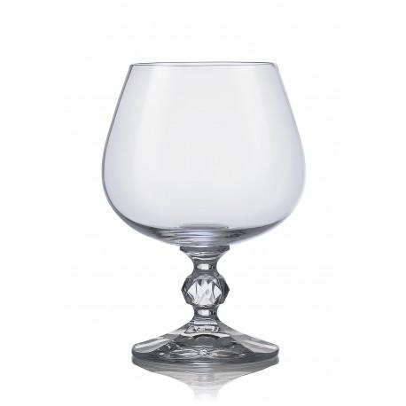Sklenice na brandy (koňak) Claudia 250 ml set 6 ks www.sklenenevyrobky.cz