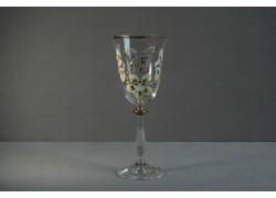 Jubilee wine glass Angela 45 years clear