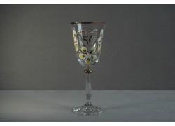 Jubilee wine glas Angela 50 years clear www.sklenenevyrobky.cz