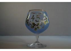 Výročný pohár Carmen 45 rokov modrá www.sklenenevyrobky.cz