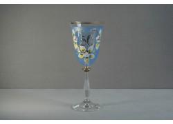 Výroční sklenička Angela 50 let (250ml modrá) www.sklenenevyrobky.cz