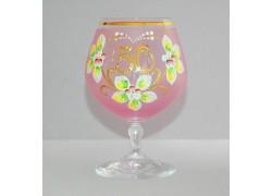 Výroční sklenička Carmen 50 (400ml růžová)