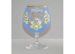 Jubilee Glass Carmen 50 years blue www.sklenenevyrobky.cz