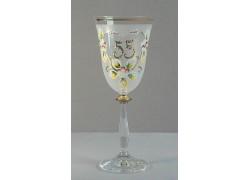 Výroční sklenička Angela 55 (190ml bílá)