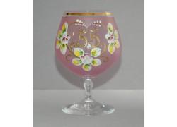 Jubilee Glass Carmen 55 years pink www.sklenenevyrobky.cz