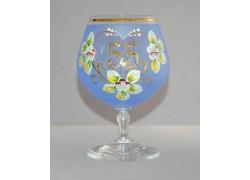 Jubilee Glass Carmen 55 years blue www.sklenenevyrobky.cz