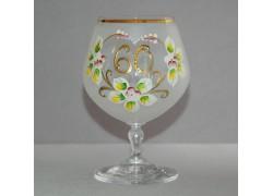 Jubilee Glass Carmen 60 years white www.sklenenevyrobky.cz
