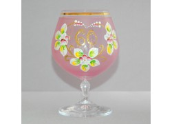 Jubilee Glass Carmen 60 years pink www.sklenenevyrobky.cz