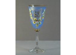 Výroční sklenička Angela 65 (250ml modrá)