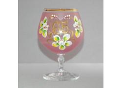 Jubilee Glass Carmen 65 years pink www.sklenenevyrobky.cz