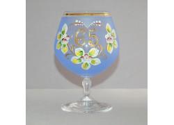 Výroční sklenička Carmen 65 (400ml modrá)