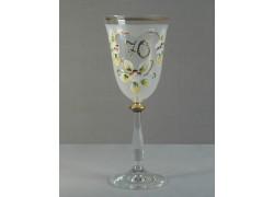 Výroční sklenička Angela 70 (250ml bílá)