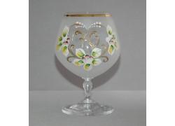 Jubilee Glass Carmen 70 years white www.sklenenevyrobky.cz