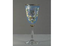Výroční sklenička Angela 75 (250ml modrá)