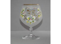 Výroční sklenička Carmen 75 (400ml bílá)