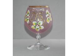 Jubilee Glass Carmen 75 years pink www.sklenenevyrobky.cz
