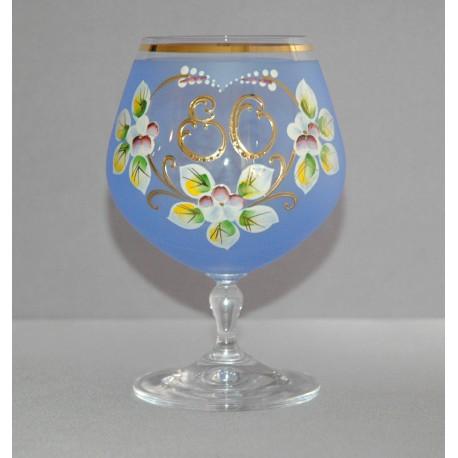 Výroční sklenička Carmen 80 (400ml modrá)