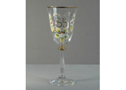 Výroční sklenička Angela 85 (250ml crystal)