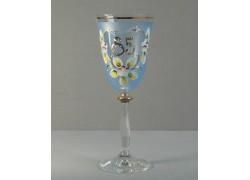 Výroční sklenička Angela 85 (250ml modrá)