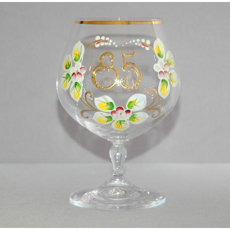 Výroční sklenička Carmen 85 (400ml crystal)