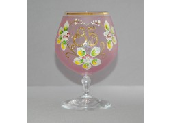 Jubilee Glass Carmen 85 years pink www.sklenenevyrobky.cz