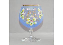 Jubilee Glass Carmen 85 years blue www.sklenenevyrobky.cz