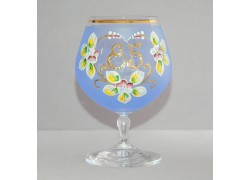 Výroční sklenička Carmen 85 (400ml modrá)