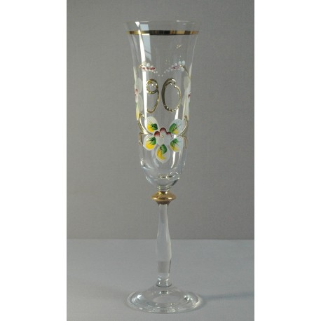 Výroční sklenička Angela - flétna 90 (190ml crystal)