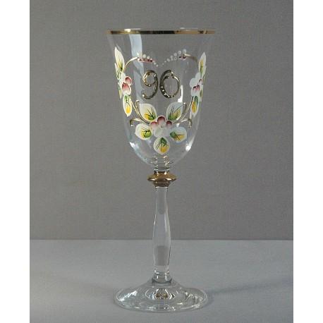 Výroční sklenička Angela 90 let (250ml crystal)